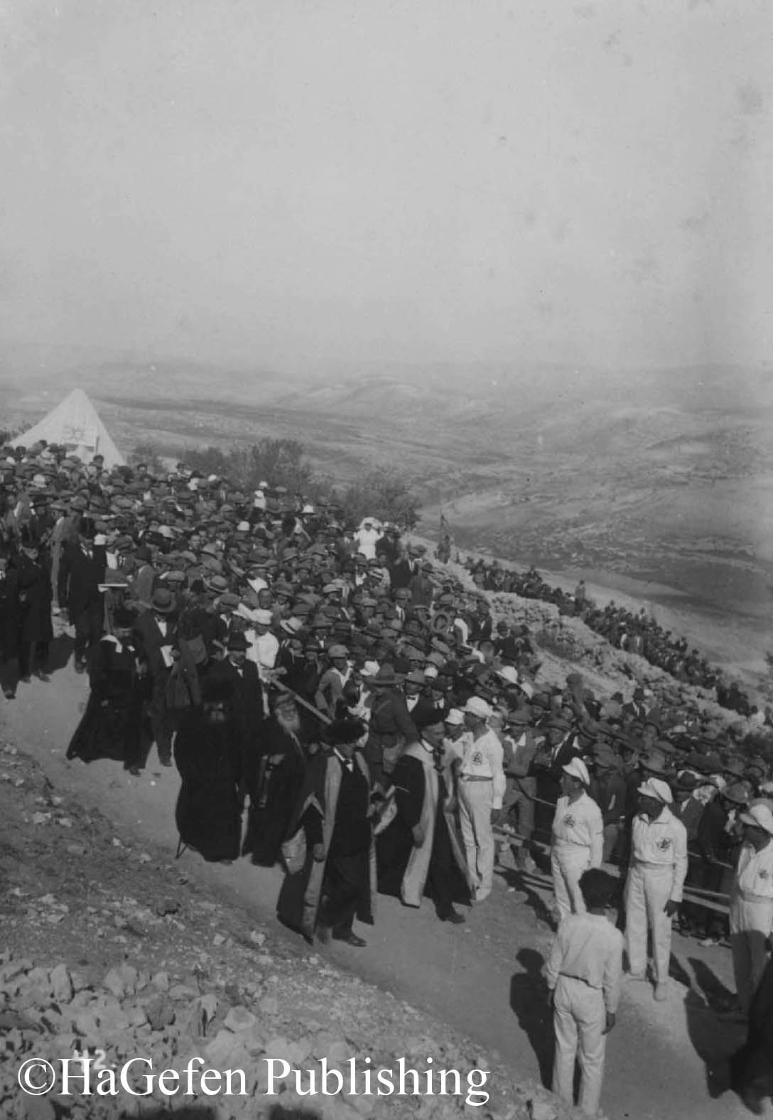 Opening of Hebrew University, 1925